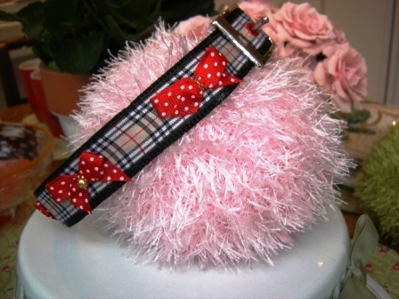 Fifiany & Co. Custom Burberry Pet Collars for Cats and Dogs