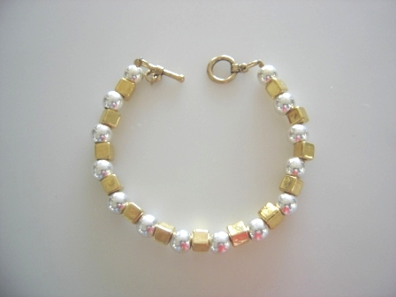 FIFIANY TWO Gold and Silver Bracelet